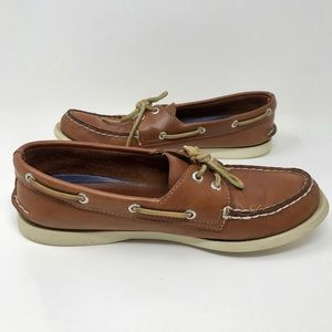 Sperry Top Sider Tan Leather Shoes
